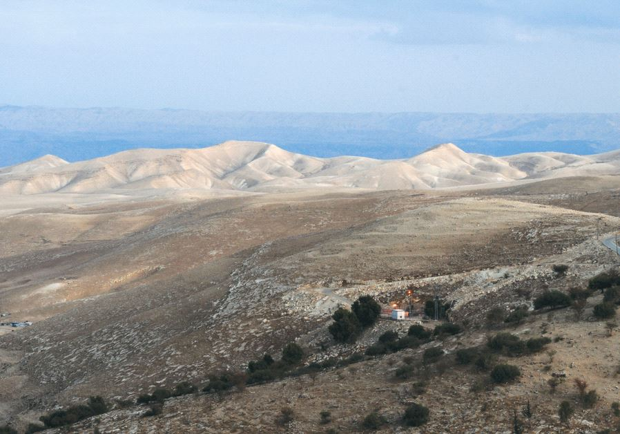 The Judean Hills as seen from Ma'aleh Adumim in 2009. Credit: Mark Neyman/GPO