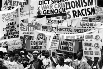 Durban I demonstration. (Credit: Reuters)