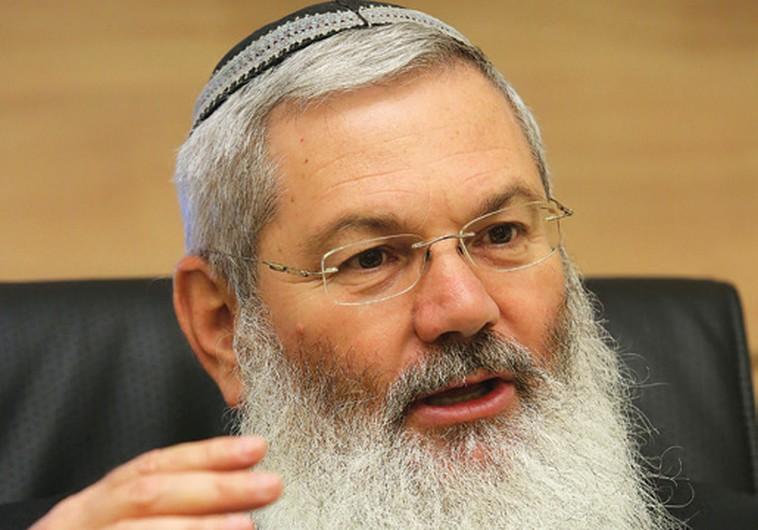 Deputy Defense Minister Eli Ben-Dahan (MARC ISRAEL SELLEM)