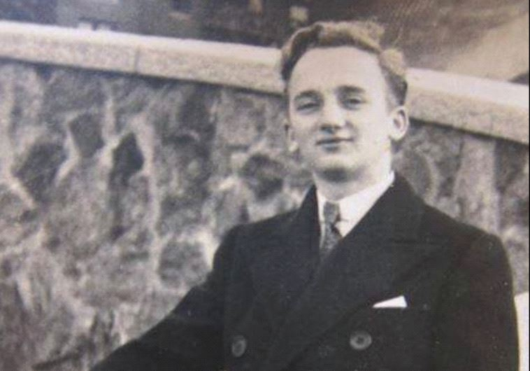 Ben Ferencz as a young man.
