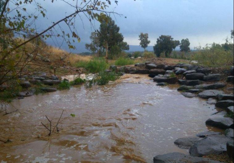 Hatzbani river Credit: KOLLER/KINNERET MUNICIPALITY