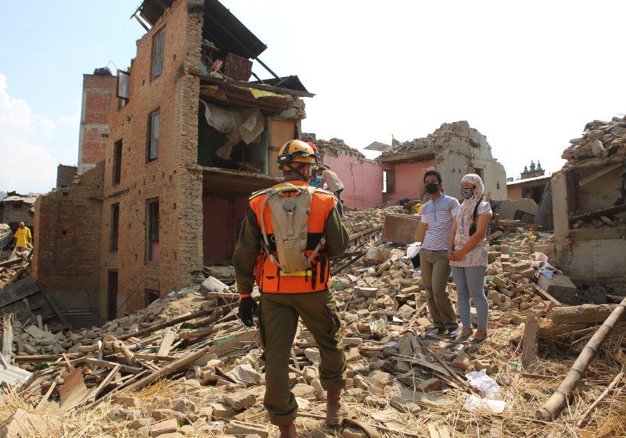 Israeli aid to Nepal (IDF)