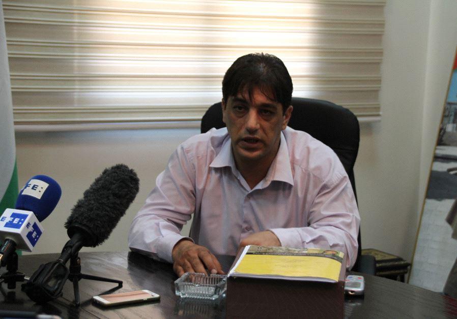 Hebron planner Alaa Shahin (Tovah Lazaroff)