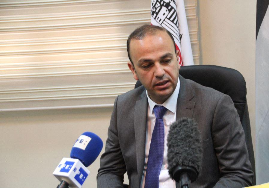 Hebron deputy mayor Yousef al-Jabari (Tovah Lazaroff)