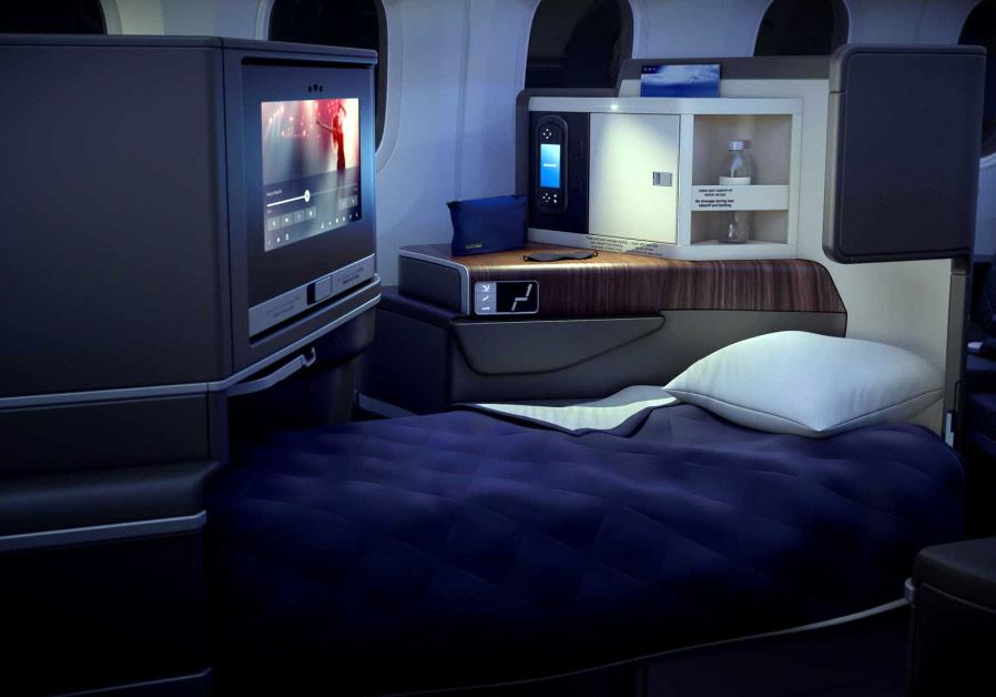 A look inside the new El Al Boeing 787 Dreamliner (El Al)