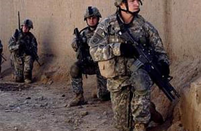 us troops iraq lurk (photo credit: AP [file])