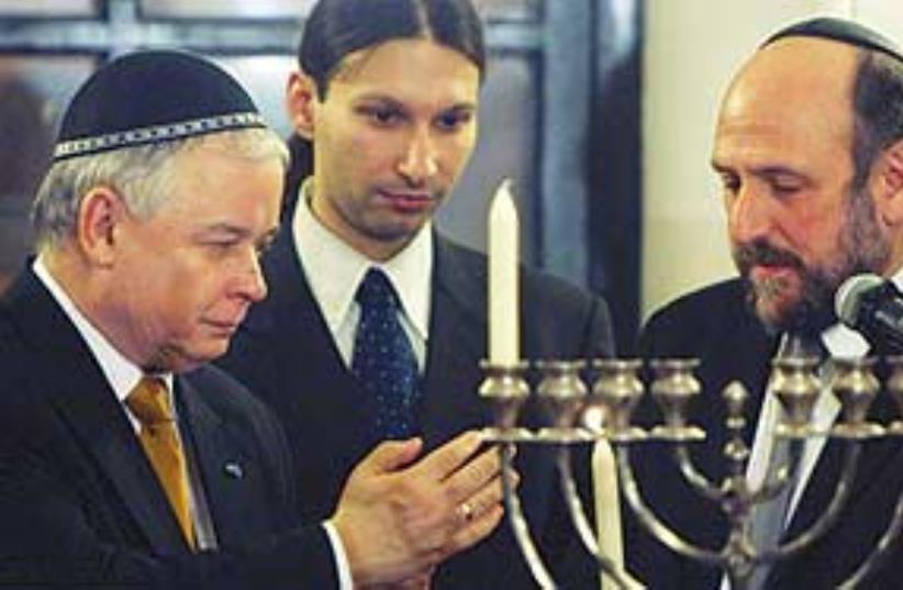 poland's chief rabbi (photo credit: ap)