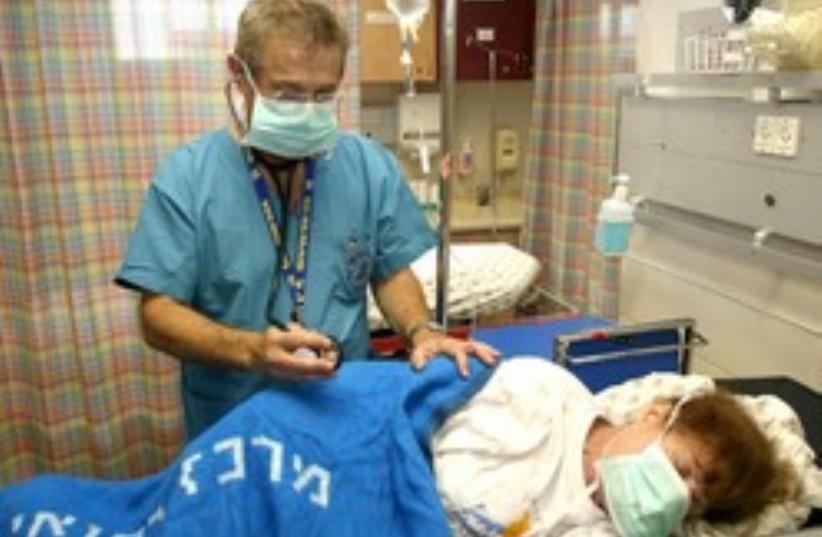 Dr. Samuel Bar-Chaim, Head of the Emergency Depart (photo credit: Ariel Jerozolimksi)