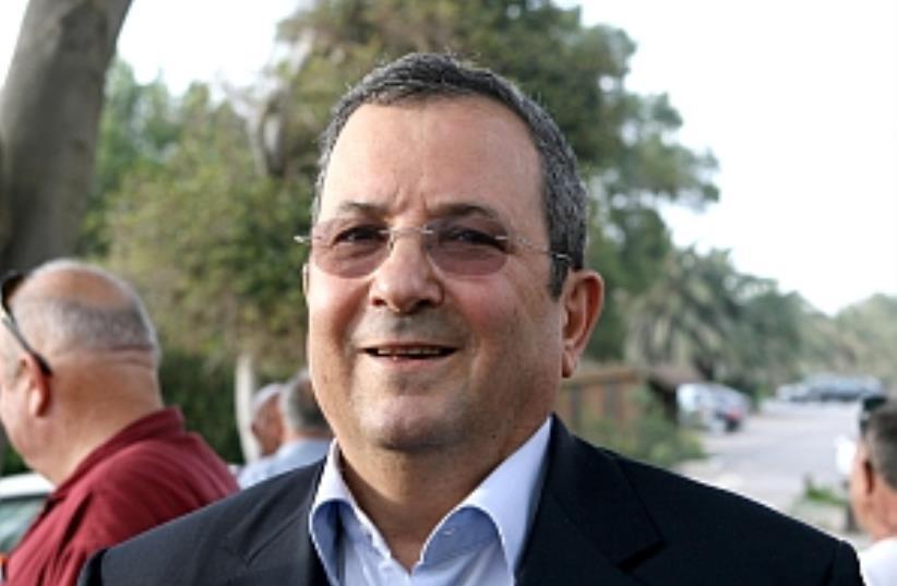 Barak grin 224 88 (photo credit: Ariel Jerozolimski [file])