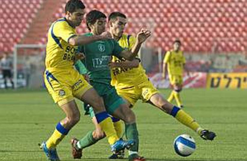 maccabi tel aviv soccer (photo credit: Asaf Kliger)