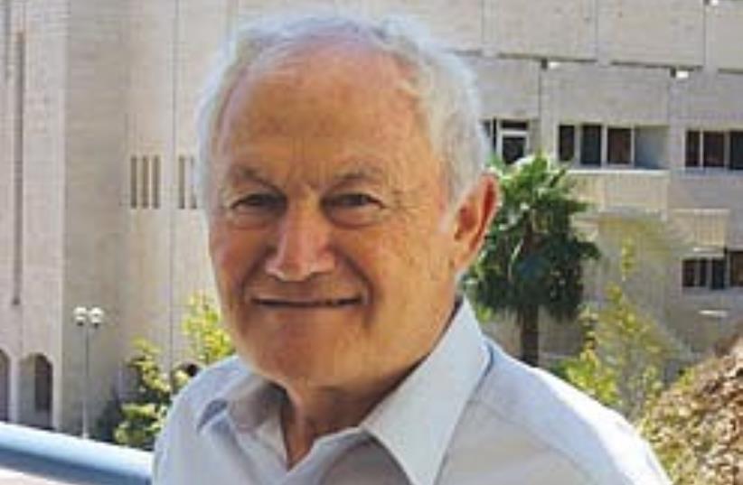 Prof. Joseph Bodenheimer (photo credit: Judy Siegel-Itzkovich)