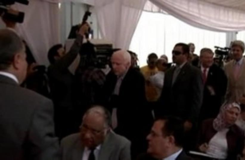 US leaders visit Egypt 311 (photo credit: REUTERS)