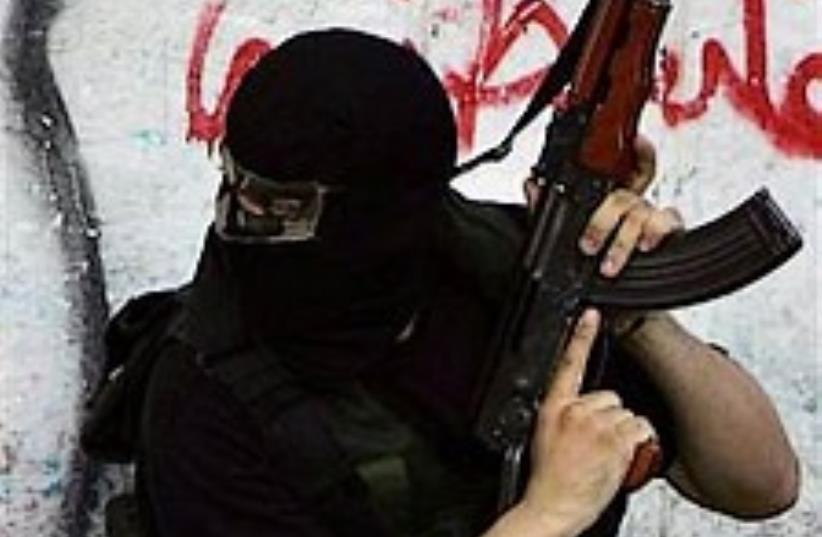Hamas gunman 224 88 (photo credit: AP [file])
