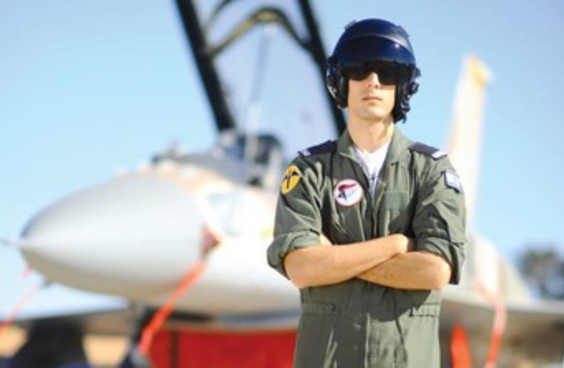 Lt. G. IAF fighter pilot 370 (photo credit: IDF Spokesman)