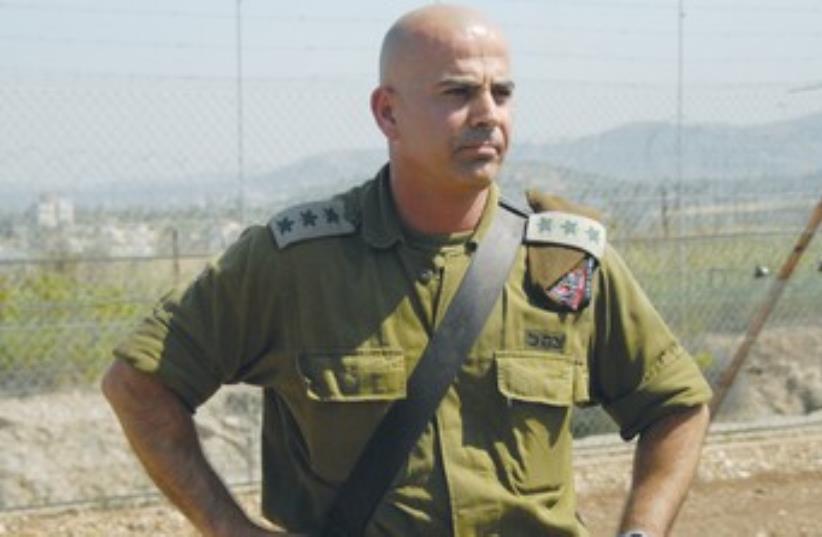 Golani brigade commander Col. Rasan Alian 370 (photo credit: IDF Spokesman)