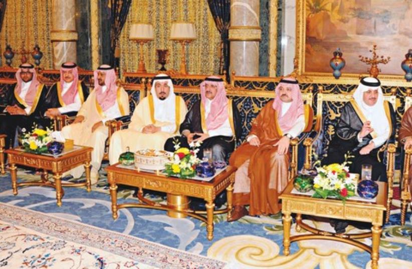 Royal Saudi princes 521 (photo credit: REUTERS)