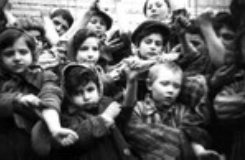 600 enfants survivants du camp d'Auschwitz II-Birkenau (photo credit: REUTERS)