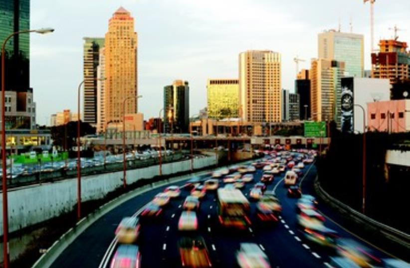 L'autoroute Ayalon a Tel-Aviv (photo credit: REUTERS)
