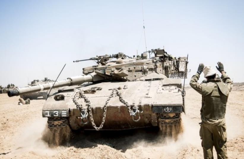 IDF at Gaza Strip (photo credit: IDF)