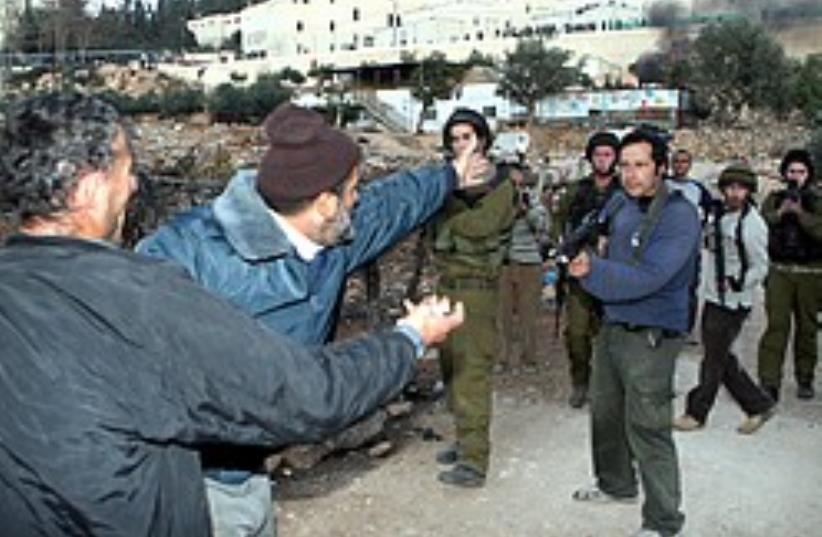 soldiers, settlers 248.63 (photo credit: Ariel Jerozolimksi)