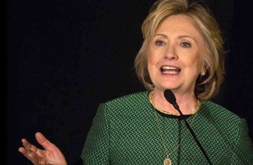 Hillary Clinton (photo credit: REUTERS)