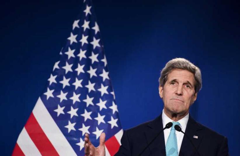US Secretary of State John Kerry (photo credit: REUTERS)