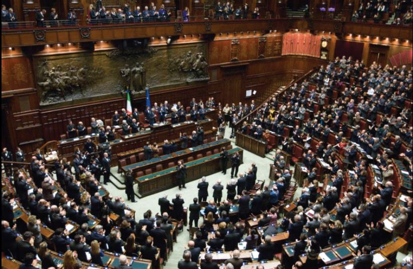 Italian Chamber of Deputies (photo credit: REUTERS)