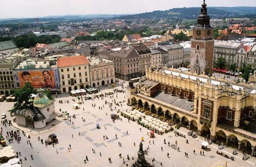 Krakow. (photo credit: Wikimedia Commons)