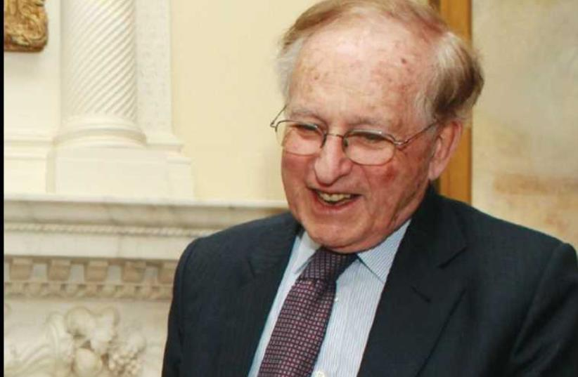 Lord Greville Janner (photo credit: REUTERS)
