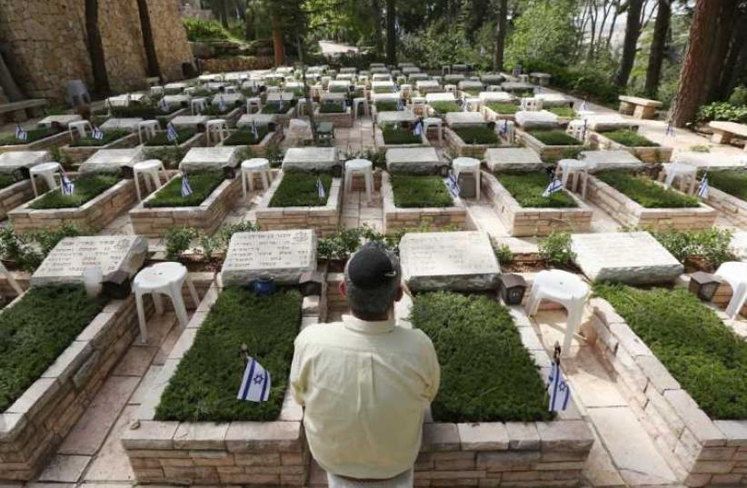 Mount Herzl military cemetery (photo credit: MARC ISRAEL SELLEM)