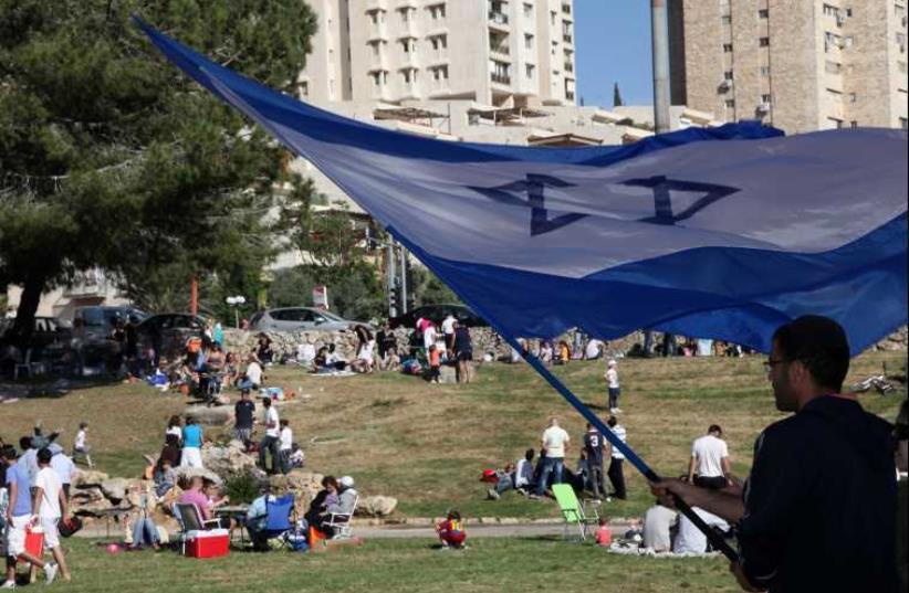 Independence Day BBQ in Jerusalem (photo credit: MARC ISRAEL SELLEM/THE JERUSALEM POST)