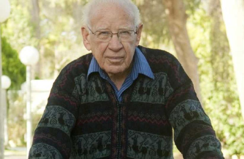 Aharon Yadlin at Kibbutz Hatzerim. (photo credit: BEN GURION UNIVERSITY OF THE NEGEV)