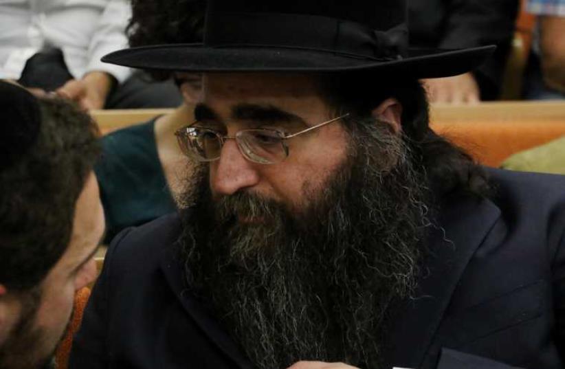 Rabbi Pinto (photo credit: SHAUL GOLAN/GPO)