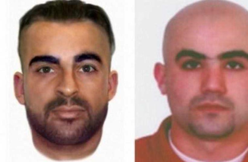 Burgas bombing suspects Meliad Farah (L) and Hassan el-Hajj Hassan  (photo credit: BULGARIAN INTERIOR MINISTRY)