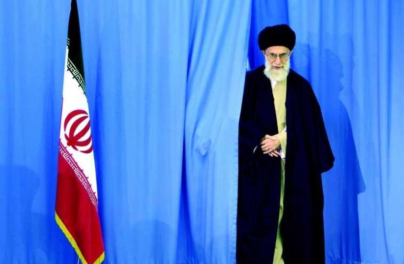 L'ayatollah Ali Khamenei, guide suprême de l'Iran (photo credit: REUTERS)
