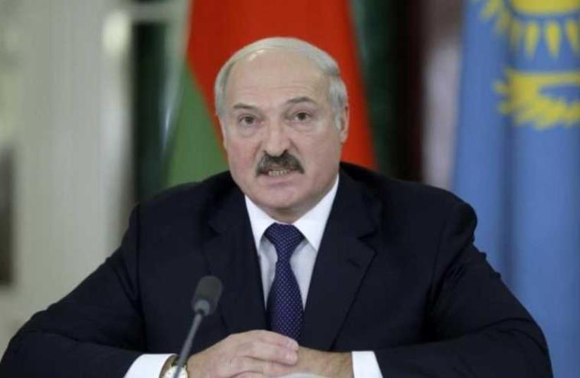 Belarus President Alexander Lukashenko (photo credit: REUTERS)