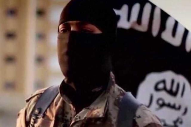 ISIS militant. (photo credit: REUTERS)