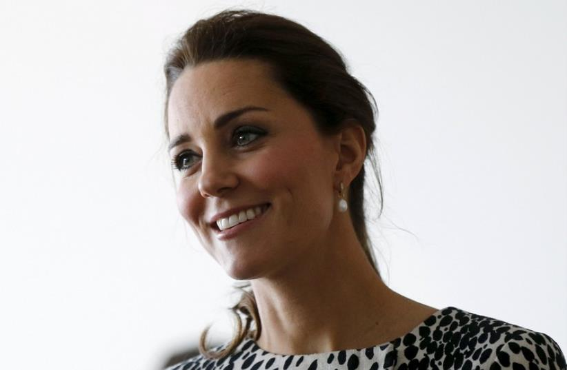 Britain's Catherine, Duchess of Cambridge (photo credit: REUTERS)