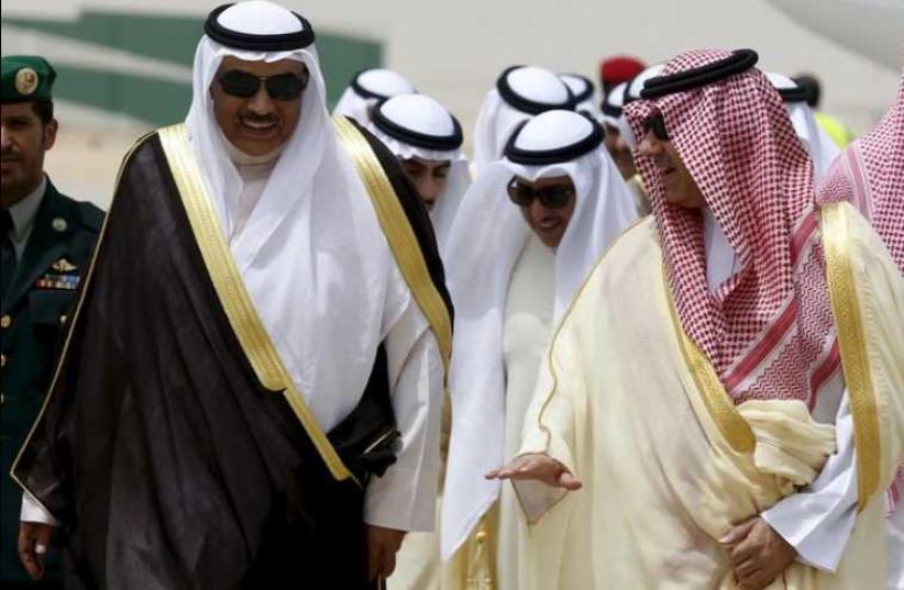 Kuwait's Foreign Minister sheikh Sabah al-Khaled al-Sabah. (photo credit: REUTERS)