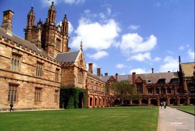 The University of Sydney (photo credit: Wikimedia Commons)