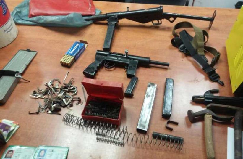 Weapon seized in Hebron (photo credit: ISRAEL POLICE)