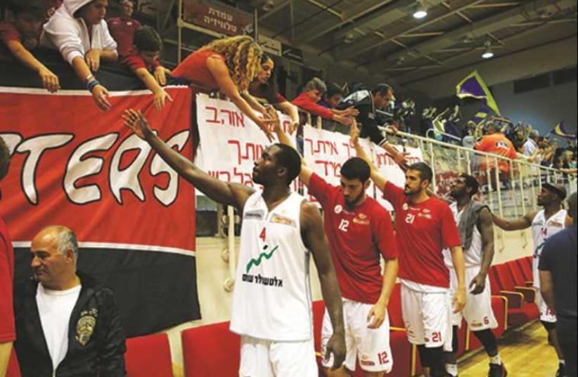 Hapoel Gilboa/Galil basketball (photo credit: UDI ZITIAT/BSL)