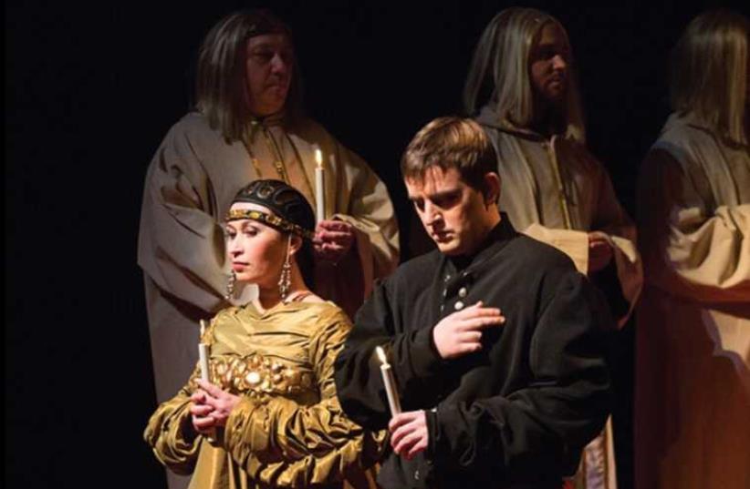 Felix Korobov conducts the 'The Tsar's Bride'. (photo credit: PR)