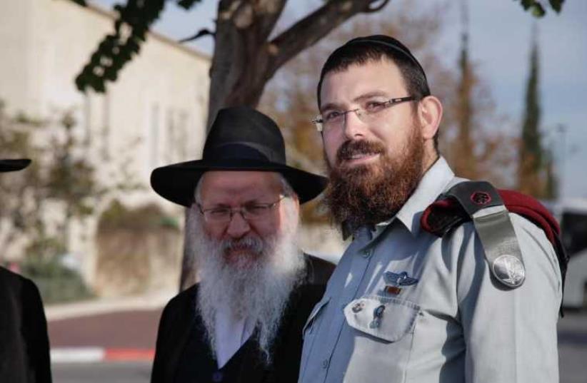 IDF officer Maj. Shraga Dahan (photo credit: SHIRA KLEIN)