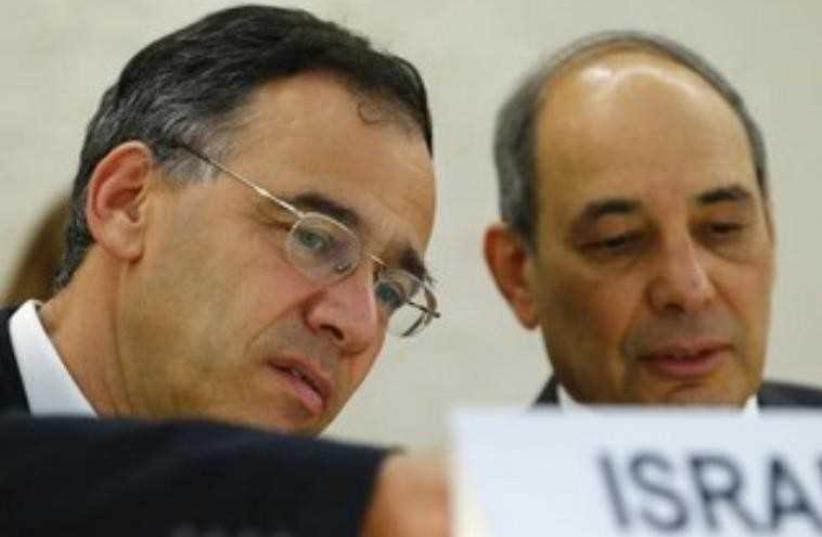 State Attorney Shai Nitzan (L). (photo credit: REUTERS)