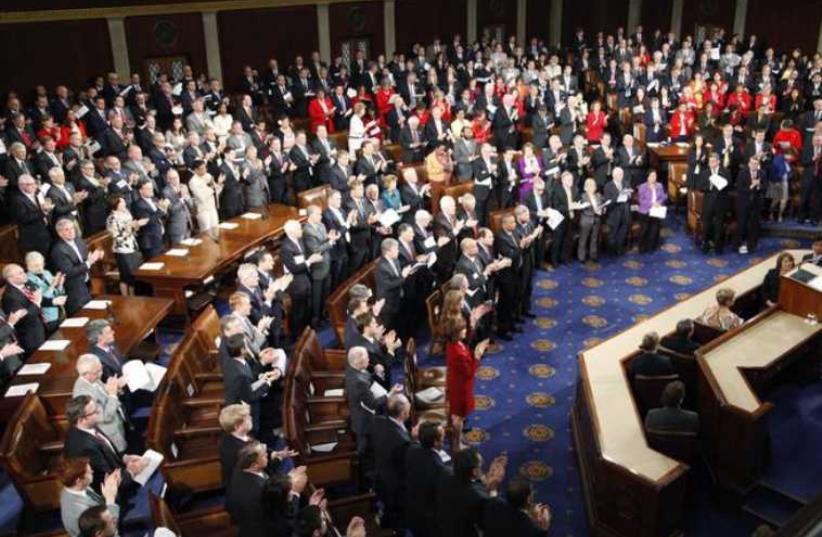 US Congress. (photo credit: REUTERS)