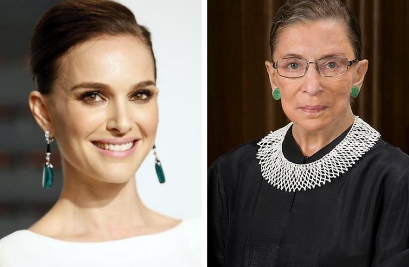 Natalie Portman To Star In Movie Based On The Life Of Ruth Bader Ginsburg The Jerusalem Post