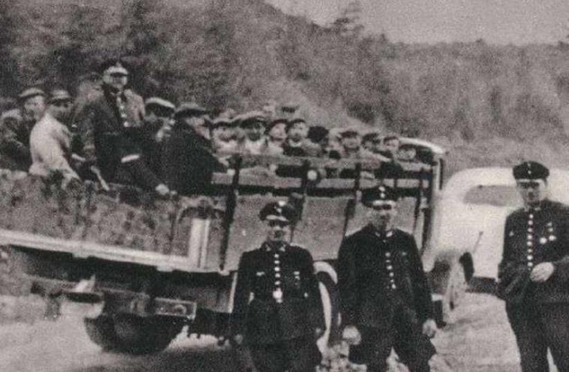 Jewish sonderkommando unit  (photo credit: Courtesy)