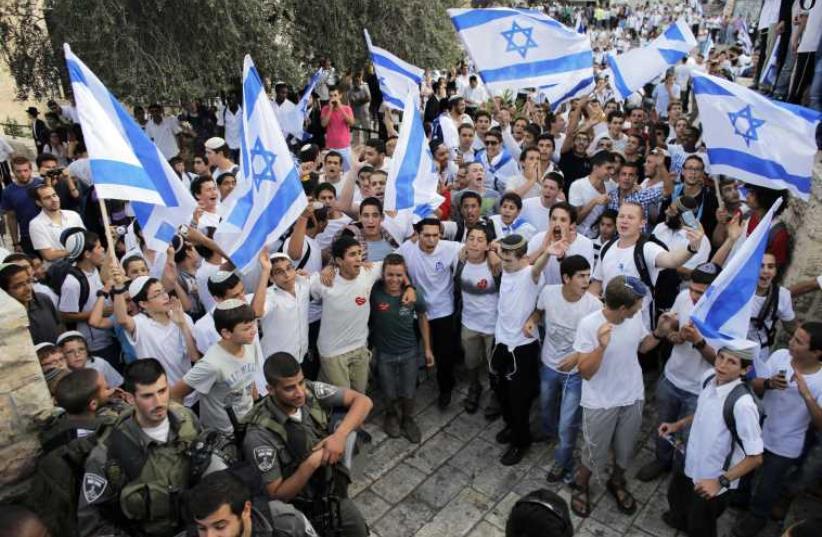 Jerusalem Day celebrations (photo credit: REUTERS)