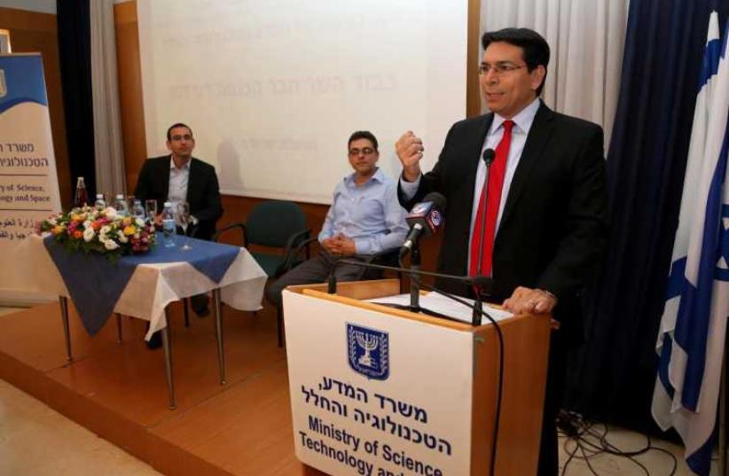 Science, Technology and Space Minister Danny Danon (photo credit: Courtesy)